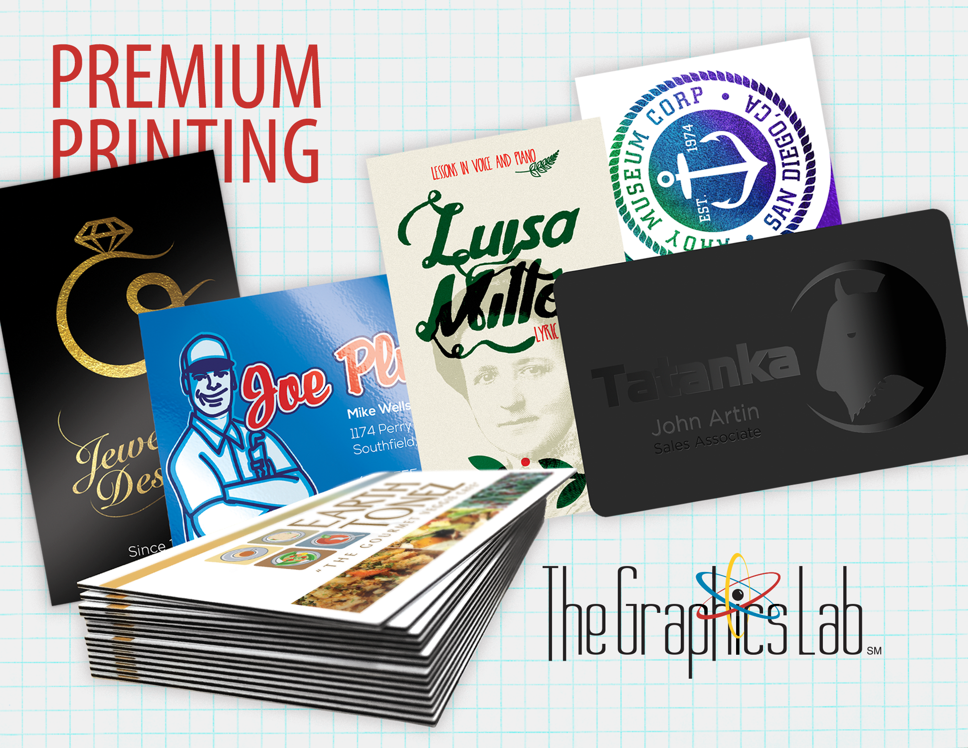 Premium Printing by The Graphics Lab Franklin TN