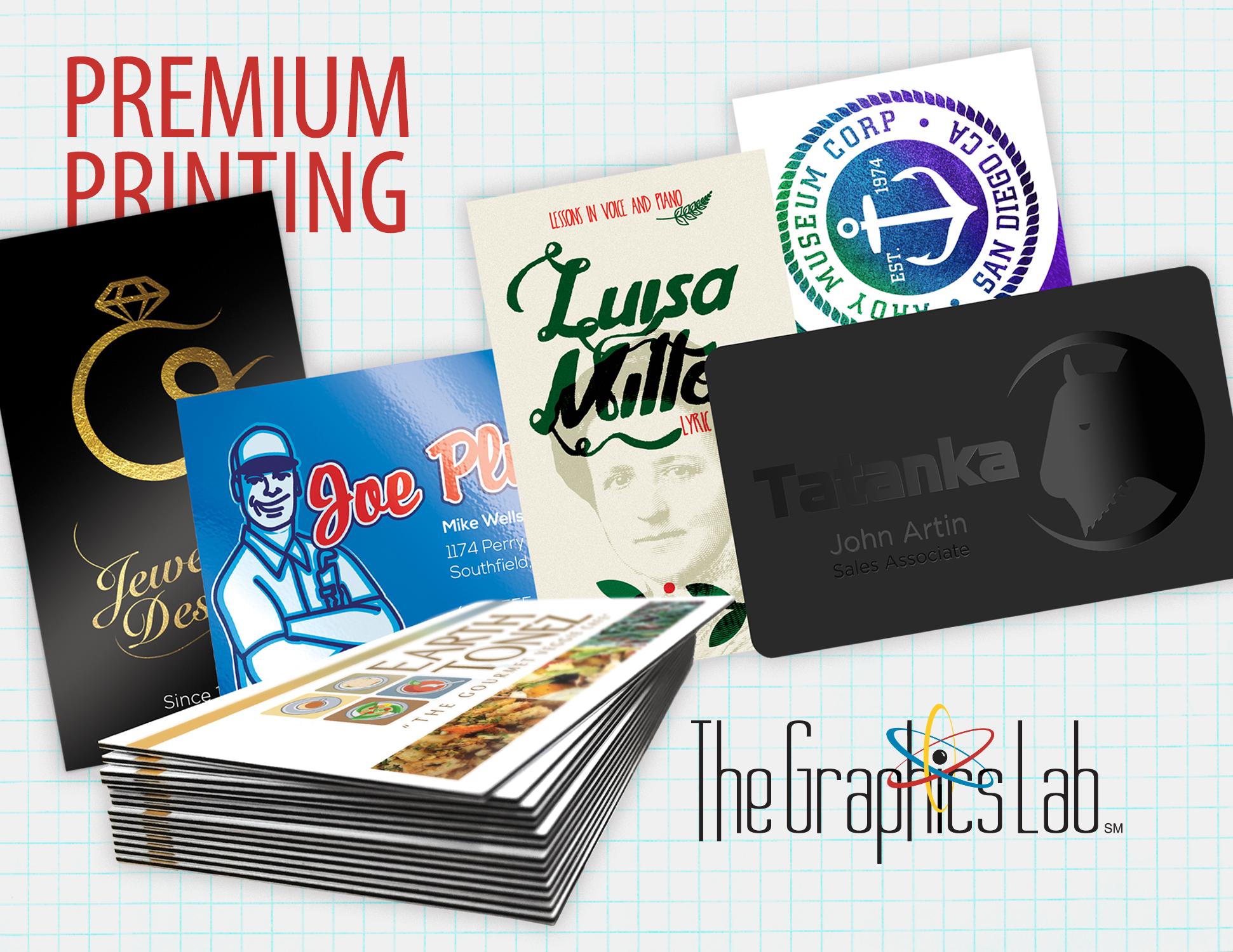 Premium Printing by The Graphics Lab Franklin TN